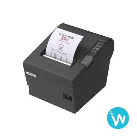 L'imprimante de tickets Epson TM-T88IV Restick vous permet d'imprimer sur des étiquettes autocollantes ou du papier thermique. Elle est disponible sur Waapos