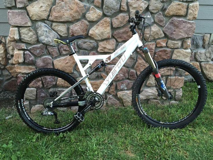 Yeti 575 Full Suspension Mountain Bike 2007 - White - Nice!! #YetiCycles