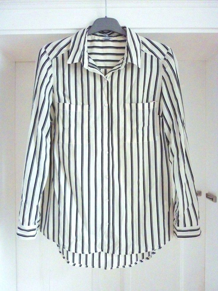 Bluse,gestreift,Streifen,schwarz,weiss,S/M,Vintage,Boho,Retro,50er,70er,Ethno   Kleidung & Accessoires, Damenmode, Blusen, Tops & Shirts   eBay!