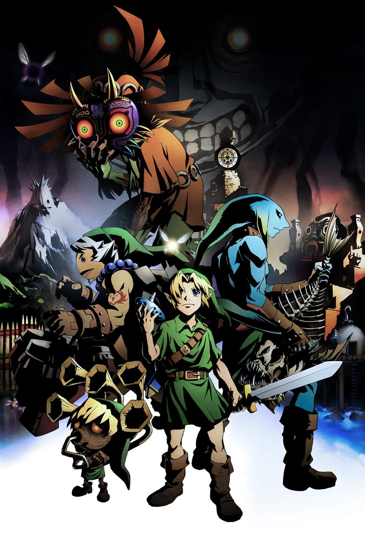Majora's Mask! Need to get this game!!!