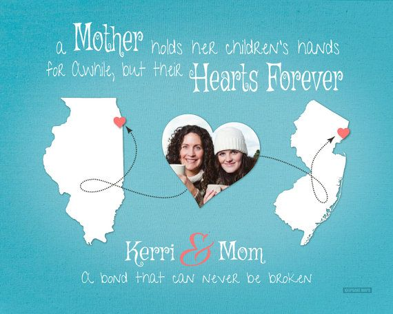 Long Distance Gift for Mom, Mothers Day Gift, Birthday