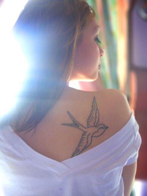 Swallow tattoo. ink Tattoo Art