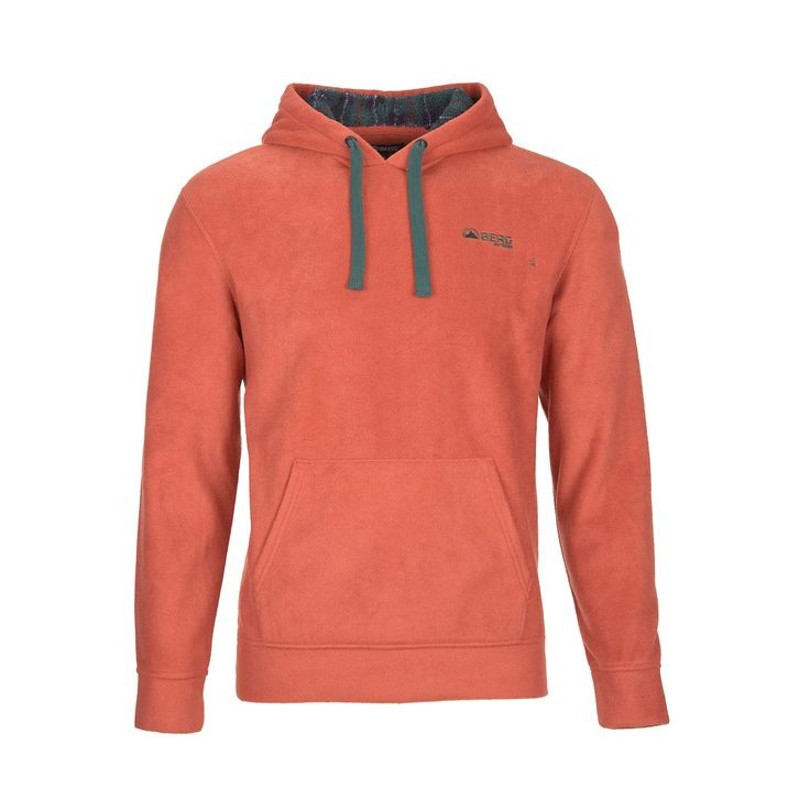 Casual and versatile polar fleece hooded sweat with anti-pilling treatment to beat the cold on a daily basis.