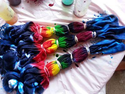 Sometimes Creative: Tie Dye Shirts
