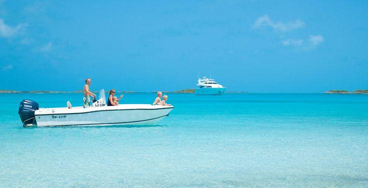 Bahamas Sailing, Scuba Diving, Deep Sea & Sport Fishing & Yacht Charters - Fowl Cay Resort in Exuma