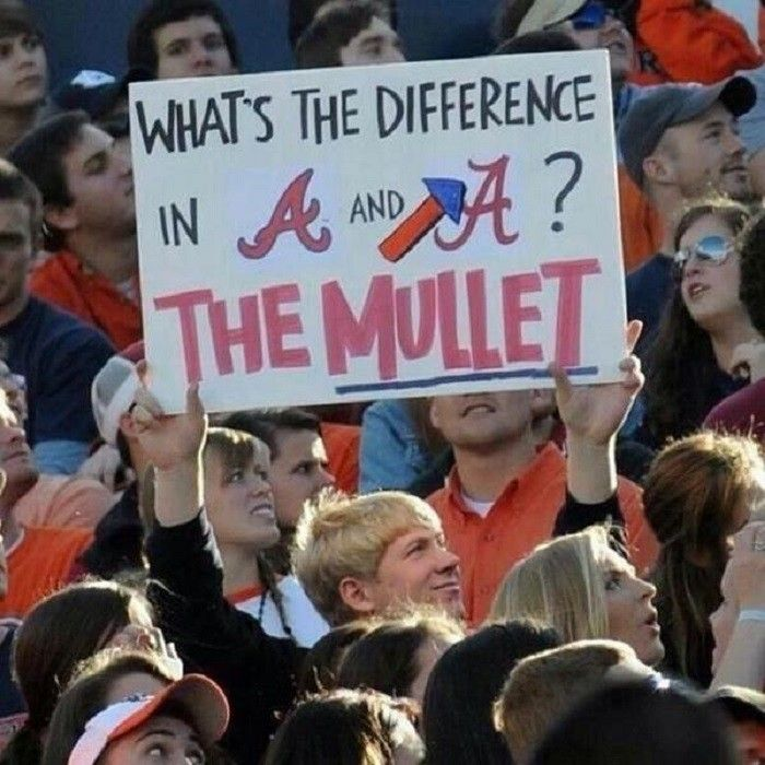 Here Are 16 Jokes You Ll Understand If You Re From Alabama Auburn Football Atlanta Braves Baseball Braves