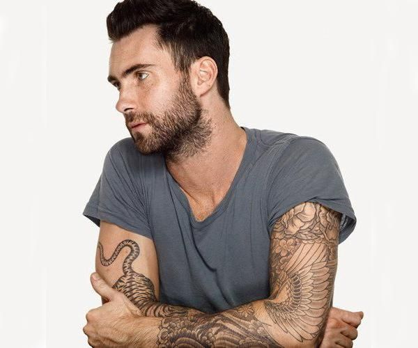Adam Levine S Tattoos Which Just To Be Clear Are Ideal