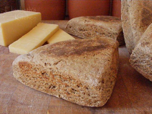 Elizabeth's Kitchen Diary: Orkney Beremeal Bannocks - recipe