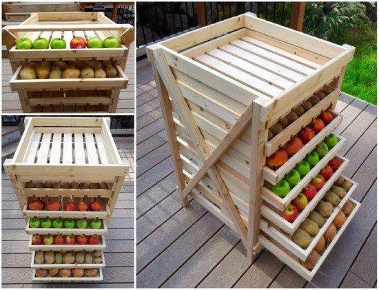 DIY Veggie Storer