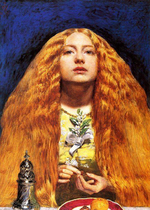Bridesmaid, John Everett Millais