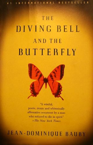 The Diving Bell and the Butterfly - seriously one of the best movies ever...considered the best movie of the decade (2000-2009)...must read the book soon.