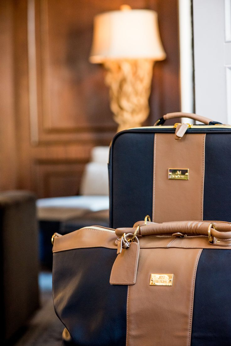 There's no better way to travel than to travel in style! When I go on vacation, I always pack in coordinated purses, carry-ons, and checked luggage. It makes me feel stylish and it also makes it super easy to find my suitcases at baggage claim.