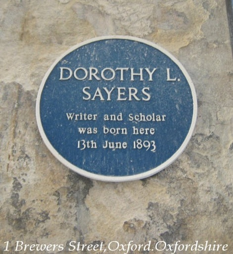 Dorothy L. Sayers, author of the Peter Wimsey Mysteries