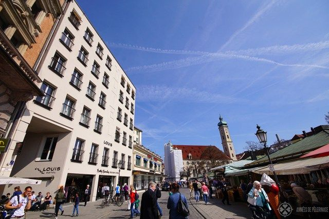 The Louis hotel - the probably best hotel near Marienplatz (only 50 meters away)