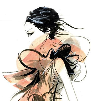 #illustration #art #design #print #inspiration #FashionIllustration #FashionPrint #VogueAnimation