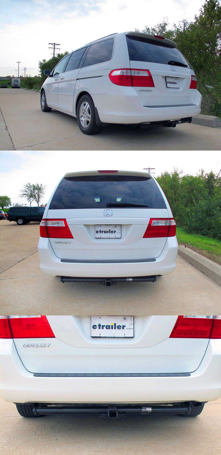 Accessories for the honda odyssey includes the draw tite trailer hitch fully welded trailer