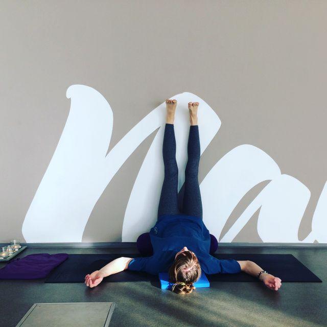 viparita karani #viparitakarani #yoga #nohyopreneostenu #relaxace #joga