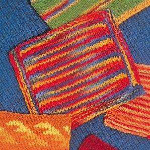 Strickwolle gefärbt - Schafwolle