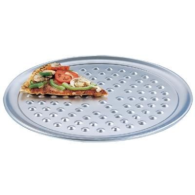 Want to really up your pizza serving game? Try a nib serving tray. These trays have little bumps to help steam escape. That helps keep the crust from getting soggy while dining! Lots of sizes to choose from