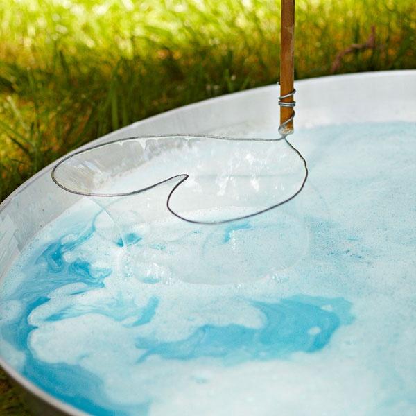 DIY Bubble Wand by lowescreativeideas  #DIY #Kids #Bubble_Wand