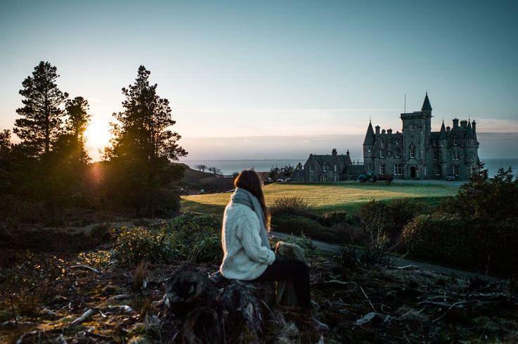 Road trip en Ecosse Photo : Glengorm Castle, Chateau en Écosse, Highlands, Mull island