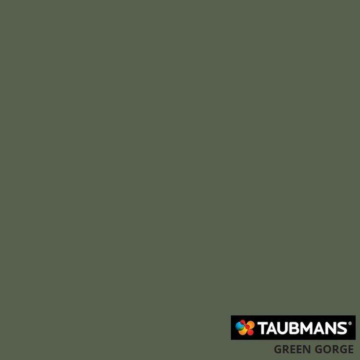 #Taubmanscolour #greengorge