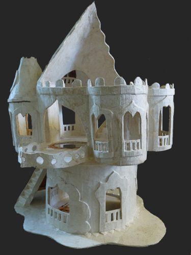 Papier mache and Castles on Pinterest