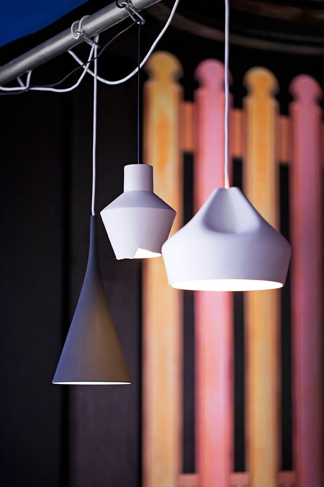 Ceramic lights / Anna Aromaa, Glorian Koti 10/13. Photo Anna Huovinen.