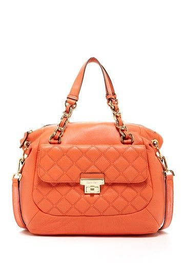 Calvin Klein Quilted Satchel Spinach Other Cool Things Pinterest Satchels Purse And Bag