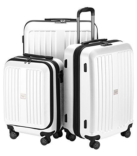 """New Trending Luggage: HAUPTSTADTKOFFER X-Berg - Set of 3 Hard-side Luggages matt Suitcase Hardside Spinner Trolley Expandable (20¡°, 24¡°  28¡°) TSA White. HAUPTSTADTKOFFER X-Berg – Set of 3 Hard-side Luggages matt Suitcase Hardside Spinner Trolley Expandable (20¡°, 24¡°  28¡°) TSA White  Special Offer: $249.99  311 Reviews The suitcase """"Xberg"""" from Hauptstadtkoffer combines high-quality components, a large volume..."""