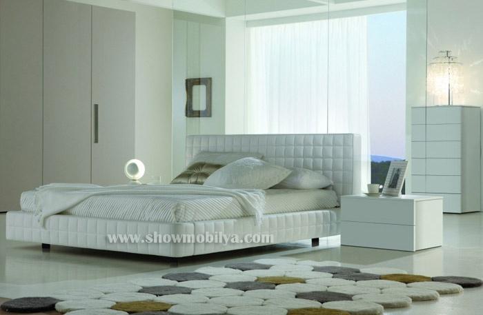 Beyaz Yatak Odası Modelleri ile Beyaz Yatak Odaları Takımları