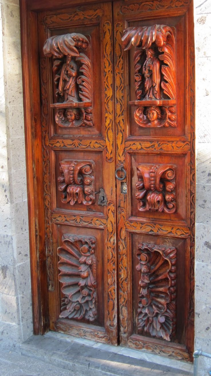 108 best images about carving doors on pinterest carving for Amazing hand carved doors