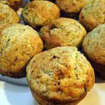 recette Muffins aux bananes et graines de pavot (sans beurre)