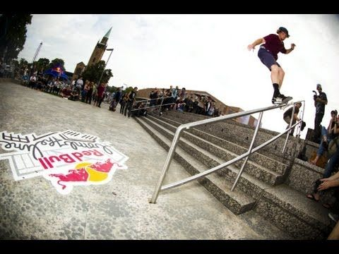 Best Line Skate Contest - Red Bull Bomb the Line 2013