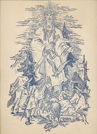 spolok bibliofilov na slovensku :: bibliofílie,kresba Martin Benka