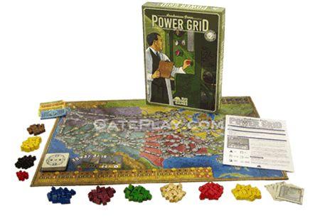 Power Grid Board Game - Rio Grande Games - Friedemann Friese - GatePlay.com - Gateway To Great Games!