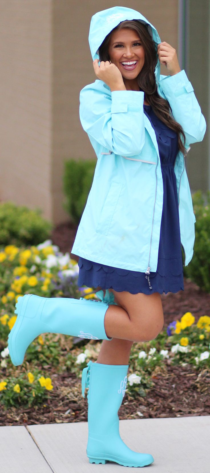 Here's something that'll make you wanna dance in the rain: New England Rain Jackets are ON SALE!!