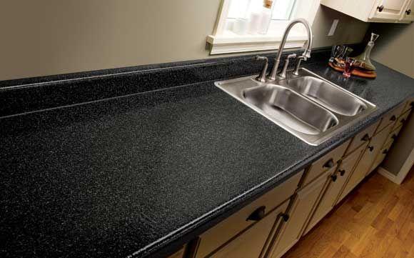Granite-Like Laminate Countertops | rustoleum countertop faux granite Cheap Kitchen Countertop Design
