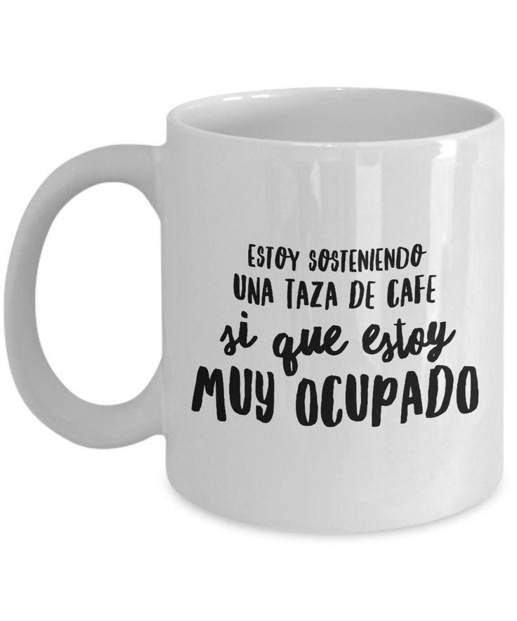Taza de Cafe Frase Graciosa - Funny coffee mug spanish   eBay