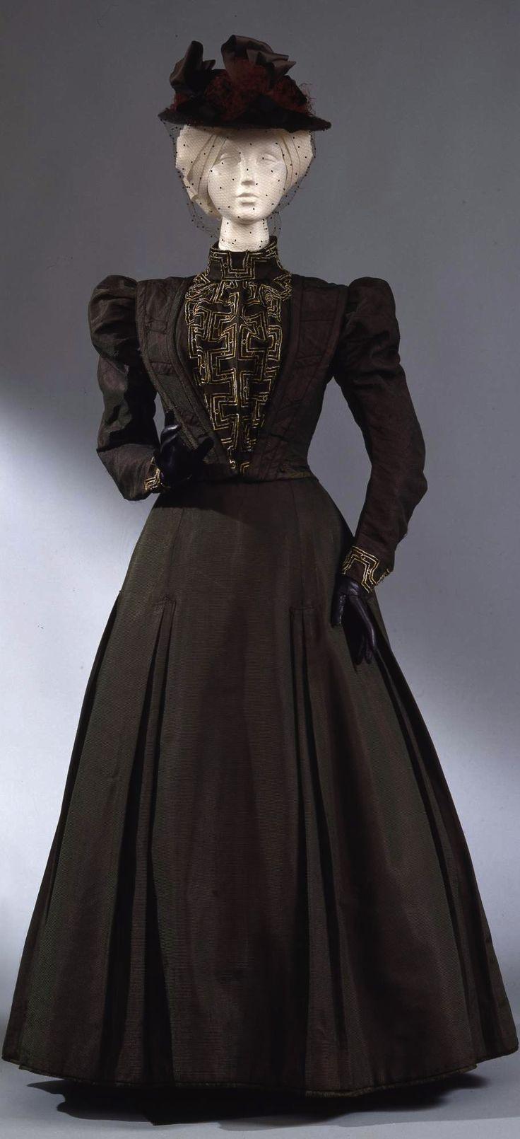 801 Best 1890-1899 Fashion Images On Pinterest  Belle -5496