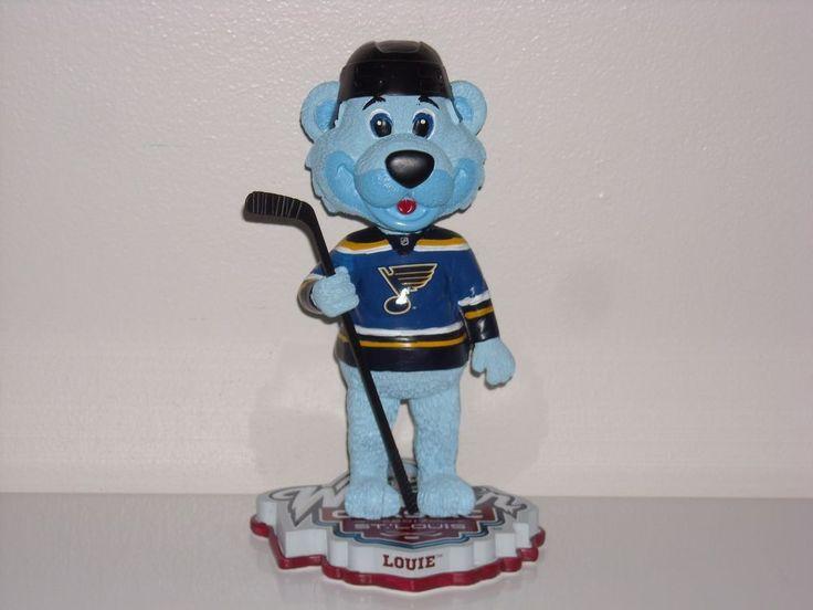 LOUIE St. Louis Blues Mascot Bobble Head 2017 NHL Winter Classic New* Exclusive*   Sports Mem, Cards & Fan Shop, Vintage Sports Memorabilia, Bobble Heads   eBay!