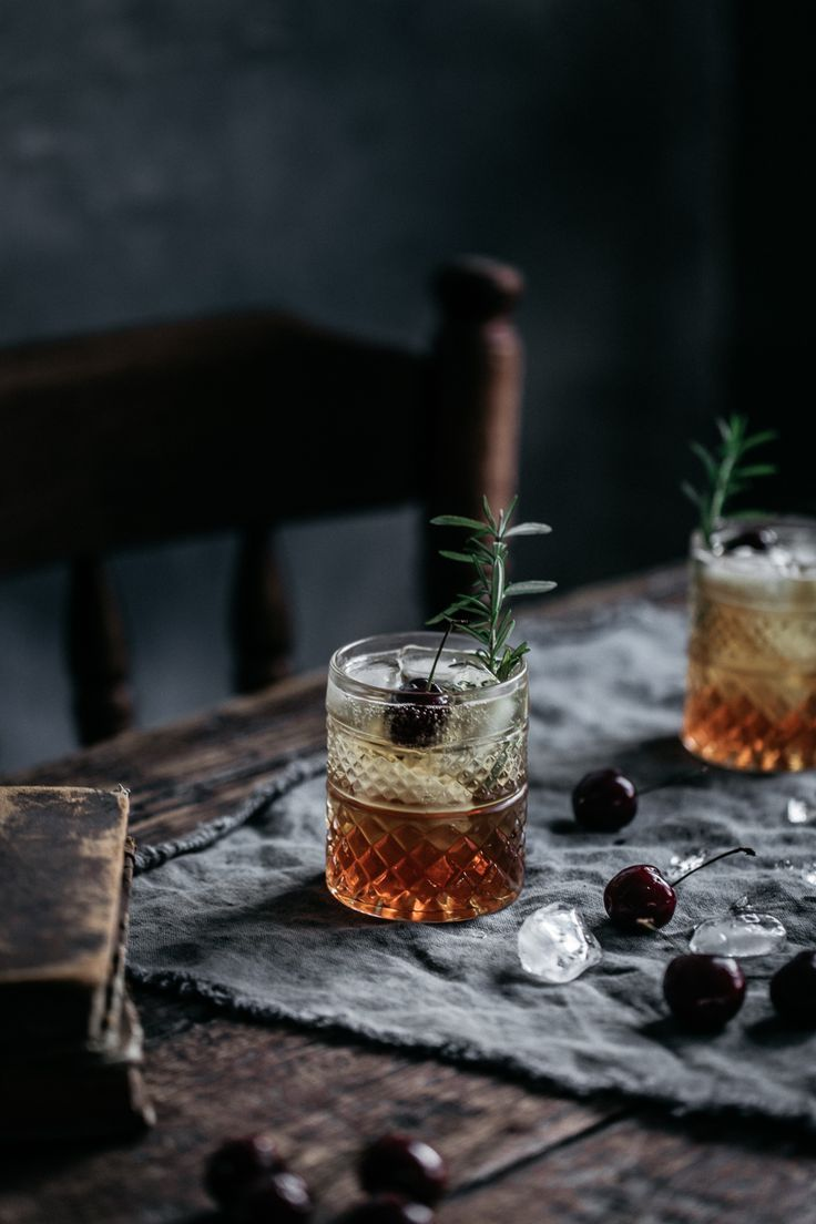 No better way to kick off the weekend that this magic combo of rum, orgeat & burnt rosemary. Anisa Sabet | The Macadames | Food Styling | Food Photography | Props | Moody | Food Blogger | Recipes