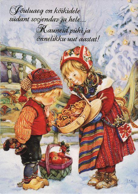 Lisi Martin postcard (Estonia) by katya: