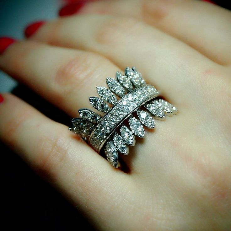 """Spettinato (Single)"" Diamond Ring - Plukka - Shop Fine Jewelry Online"