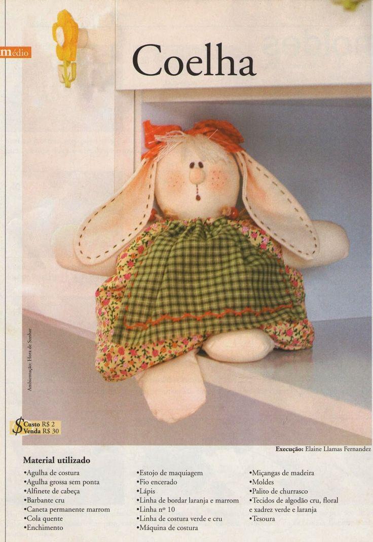 Queridas coelheiras, na Páscoa eu vendimuito esse saquinho de coelho, como eu mexo com chocolate também, enchi de bombom e mini ovo de pá...