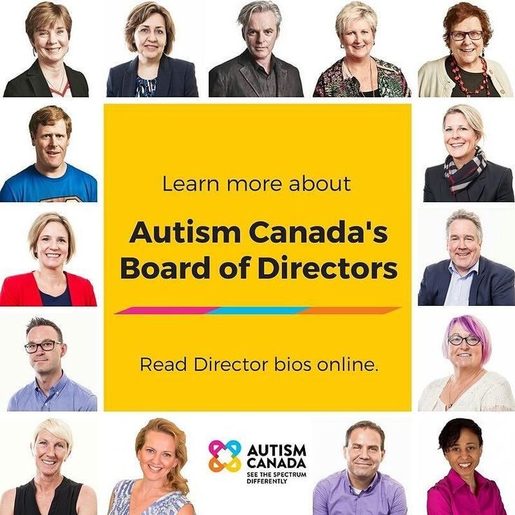 Over the last couple of months we introduced you to the 15 Directors that comprise Autism Canada's new Board. Learn more about what makes each Director a strong distinguished leader by visiting our Board of Directors page: http://bit.ly/2vp4qbX Click on each photo to read its respective bio.