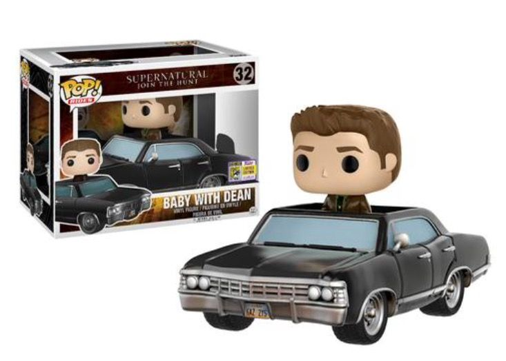 Baby and Dean Supernatural SDCC exclusive Funko POP. Not a need but definately an awesome addition to any collection.