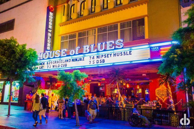 House Of Blues San Diego Restaurants Near