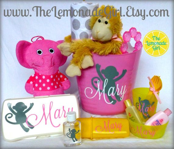87 best easter basket ideas images on pinterest easter baskets personalized baby basket baby shower gift baby girl gift chevron polka dot negle Image collections