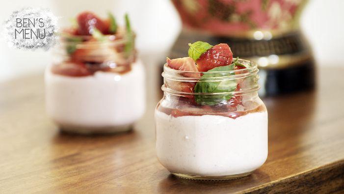 Georgia Barnes' recipe for her Strawberry Mousse